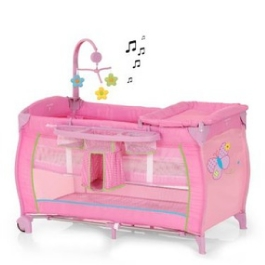 Манеж-кровать Hauck Baby Center Butterfly