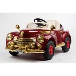 Электромобиль River-Auto Bentley-E999KXC бордовый/хромированный обвес