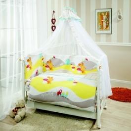 Комплект в кроватку Perina Кроха 7 предметов
