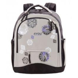 Школьный рюкзак 4YOU Compact 112901-165 Круговой орнамент
