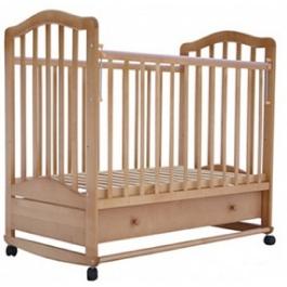Детская кроватка Лаура -6 (качалка) БЕЗ ЯЩИКА