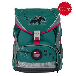 Школьный ранец DerDieDas 000406-061 Пантера ErgoFlex XL с наполнением