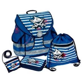 Школьный ранец Spiegelburg Capt'n Sharky Ergo Style Plus с наполнением 10589