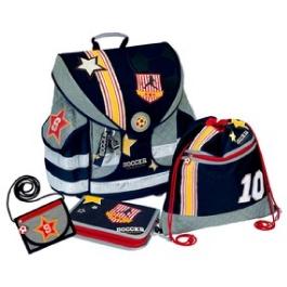 Школьный ранец Spiegelburg Soccer Ergo Style Plus с наполнением 10682