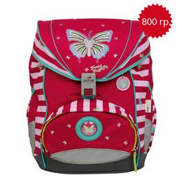 Школьный ранец DerDieDas 8405011 Крылья бабочки ErgoFlex с наполнением