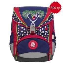 Школьный ранец DerDieDas 8405013 Цветущая яблоня ErgoFlex с наполнением