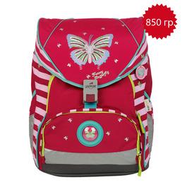 Школьный ранец DerDieDas 8406011 Крылья бабочки XL ErgoFlex с наполнением