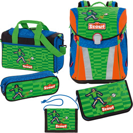 Школьный ранец Scout Sunny Футбол с наполнением 5 предметов 735107-988
