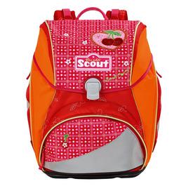Школьный ранец Scout Alpha Спелая вишня с наполнением 4 предмета 744107-972