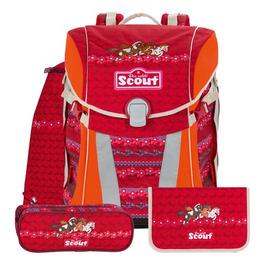 Школьный ранец Scout Sunny Друзья с наполнением 4 предмета 734107-746
