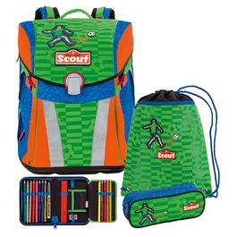 Школьный ранец Scout Sunny Футбол с наполнением 4 предмета 734107-988