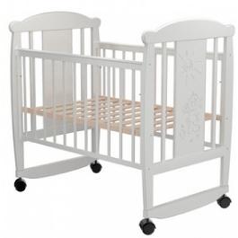 Детская кроватка Valle Cat 02 колесо-качалка