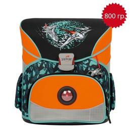 Школьный ранец DerDieDas 000402-020 Звездолет Basic с наполнением