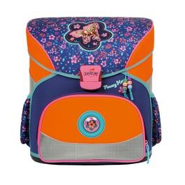 Школьный ранец DerDieDas 000402-023 Цветочный пони Basic с наполнением