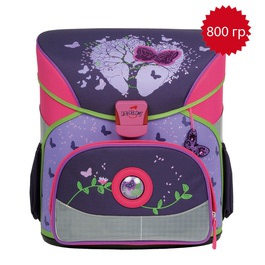 Школьный ранец DerDieDas 000402-027 Таинственная бабочка Exklusiv с наполнением