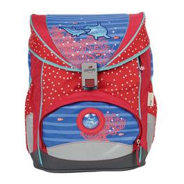 Школьный ранец DerDieDas 8405033 Дельфины ErgoFlex с наполнением
