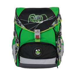 Школьный ранец DerDieDas 8406031 Кислотный паук ErgoFlex (размер XL) с наполнением