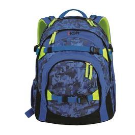 Школьный рюкзак iKon Синий камуфляж 000200-04