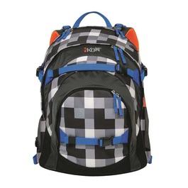 Школьный рюкзак iKon Черно-белая клетка 000200-06