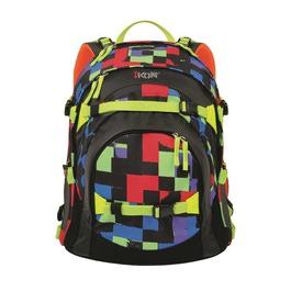 Школьный рюкзак iKon Разноцветная клетка 000200-07