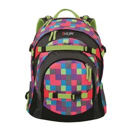 Школьный рюкзак iKon Розовая клетка 000200-08