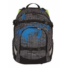 Школьный рюкзак iKon Черная структура 000200-14