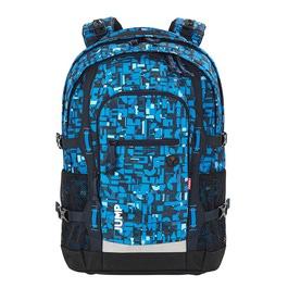 Школьный рюкзак 4YOU Jumpac Геометрический синий 115500-312