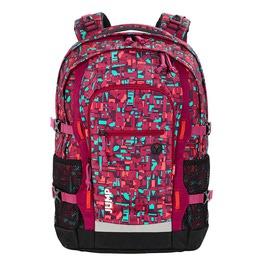 Школьный рюкзак 4YOU Jumpac Геометрический красный 115500-331