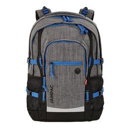 Школьный рюкзак 4YOU Jump Серые пиксели