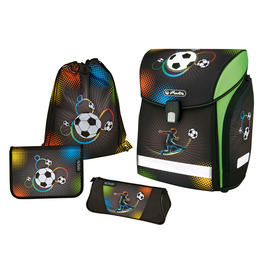 Школьный ранец Herlitz MIDI NEW PLUS Soccer с наполнением