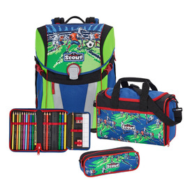 Школьный ранец Scout Sunny Футбольная команда с наполнением 4 предмета 73410820600