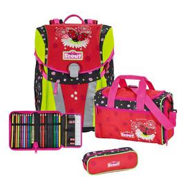 Школьный ранец Scout Sunny Летний день с наполнением 4 предмета 73410864500
