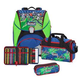 Школьный ранец Scout Alpha Футбольная команда с наполнением 4 предмета 744106-206