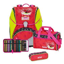 Школьный ранец Scout Alpha Летний день с наполнением 4 предмета 744106-645