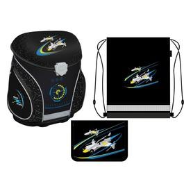 Школьный ранец MagTaller J-FLEX Space с наполнением 21311-20