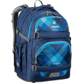 Школьный рюкзак Deuter 3830016-3038 Strike Синяя клетка