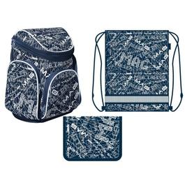 Школьный рюкзак MagTaller Boxi City с наполнением