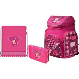 Школьный рюкзак MagTaller Boxi Girl с наполнением