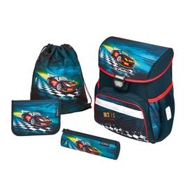 Школьный ранец Herlitz LOOP PLUS Super Racer с наполнением 50007943