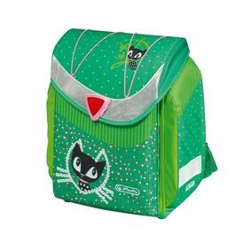 Школьный ранец Herlitz FLEXI Pussy Deluxe green
