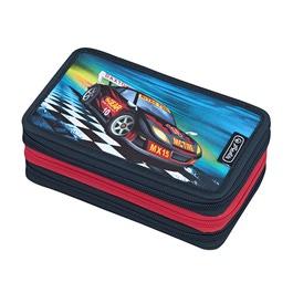 Пенал Herlitz Super racer с наполнением 31 предмет