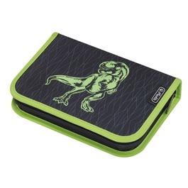 Пенал Herlitz Green Dino с наполнением 31 предмет 50014392