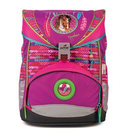 Школьный ранец DerDieDas ErgoFlex Лошадка с наполнением 8405045