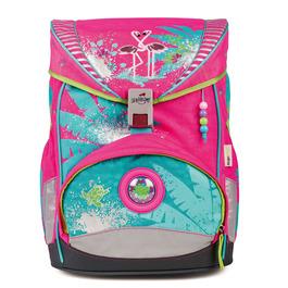 Школьный ранец DerDieDas ErgoFlex Фламинго с наполнением 8405046