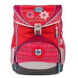 Школьный ранец DerDieDas 8405048 Цветы ErgoFlex с наполнением