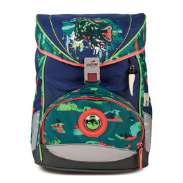 Школьный ранец DerDieDas 8405051 Тираннозавр ErgoFlex с наполнением