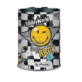 Подставка для ручек Herlitz SmileyWorld Rock, 76мм, металл