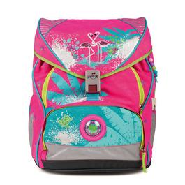 Школьный ранец DerDieDas ErgoFlex XL Фламинго с наполнением 8406046