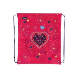 Мешок для сменной обуви Herlitz Pink Hearts