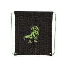 Мешок для сменной обуви Herlitz Green Dino